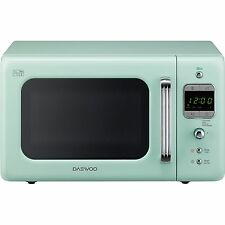 Spacious Retro Design Daewoo Microwave Reduces Energy Consumption