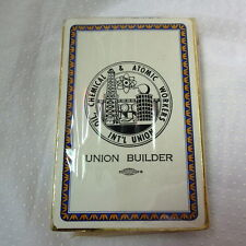 Oil Atomic Workers Union RediSlip Bridge Playing Cards Sealed Tax Stamp