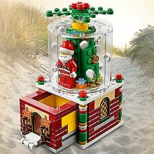 LEGO 40223 Christmas Snowglobe 2016 Limited Edition New and Factory Sealed!