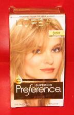 L'Oreal Paris Superior Preference Hair Color ~ # 8 ~ Medium Blonde ~ 1kit