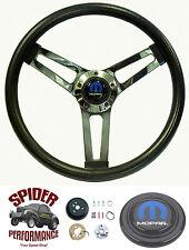 "1968-1969 Coronet Dart Charger steering wheel SHALLOW DEPTH 14 1/2"" Grant"