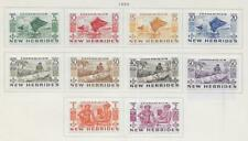 10 New Hebrides Stamps from Quality Old Antique Album 1953
