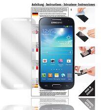 6x Displayschutzfolien für Samsung Galaxy S4 mini Schutzfolie Klar Folie