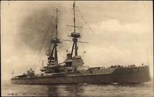 TUCK Our Ironclads British Naval Ship HMS St. Vincent c1910 Postcard