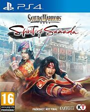 Samurai Warriors espíritu de Sanada | Playstation 4 PS4 Nuevo