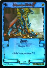 WIZARDS OF MICKEY Zaius 6/150 FOIL LE ORIGINI ITA NEAR MINT