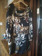 Biba Floral Dress 100 per cent silk size 10 used ( please see description)