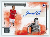 2019-20 MESUT OZIL 36/65 AUTO PANINI IMPECCABLE PREMIER LEAGUE INDELIBLE INK