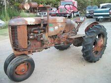 1946 Vac Case Vintage Antique Tractor Tricyle Front Row Crop 45 47 48 49 50 51