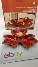Autumn Leaf shaped Ceramic dish