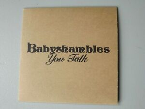 Babyshambles You Talk 3 Track CD Single Promo Instrumental