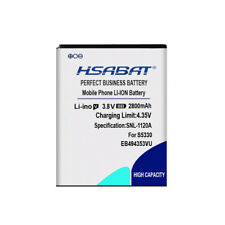 HSABAT 2800mAh EB494353VU Battery for Samsung i5510 S5070 S5330 S5570 Galaxy Min