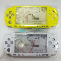 Yellow White Crystal For PSP 2000 PSP2000 Console Replacement Housing Shell Case