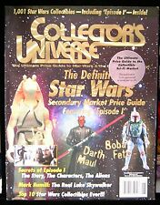 1999 Collector's Universe Magazine Star Wars Price Guide figures collectibles