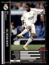 Panini/Sega (Japan) WCCF (2006-2007) Robinho (Real Madrid) No. 367