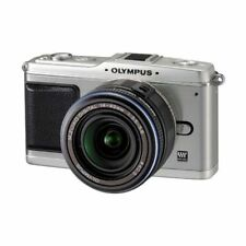Excellent! Olympus E-P1 12.3MP with 14-42mm Silver - 1 year warranty