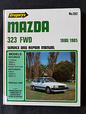GREGORY'S MAZDA 323 FWD 1980 -1985 SERVICE AND REPAIR MANUAL NO 202