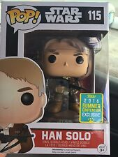 funko pop han solo crossbow exclusive sdcc summer convention blaster In Hand