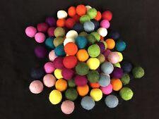 200 Filzkugeln bunt 2 cm 15 Farben 100% Wolle Filz kugeln #4