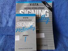 Signing Naturally Level 1 (Vista, Paperback, VHS Video) Student Edition Workbook