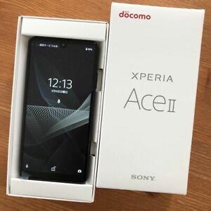 SONY Xeria ACE II 2 Compact Android Smartphone Black unlocked SO-41B