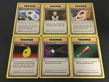 Pokemon TCG XY-Evolutions Standard Uncommon Trainer Set - 17 Cards - #73-89/108