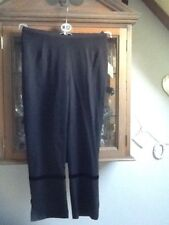 Next 3/4 smart party trousers UK8