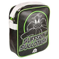 Sylvester Bag Looney Tunes Cartoon Holiday Travel Shoulder Flight Bag Messenger