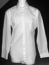 Ketch Vintage White Dress Shirt 16 (34/35) Single Needle Tailoring