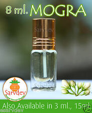 MOGRA Premium Quality Itra attar 8ml Perfume For Shiva GANPATI AYYAPPA - ROLL ON