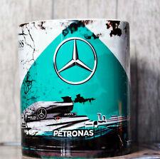 Retro F1 Petronas Mercedes Formula 1 Oil Can Mug Car Tea Coffee Mug Ideal Gift