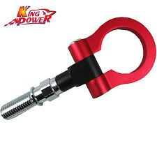 RED FRONT ALUMINUM RACING TOW HOOK FOR HONDA CIVIC TYPE R FN2 2.0