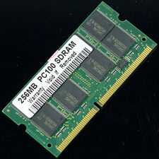 New 256MB PC100 100MHz SO-DIMM SDRAM 144pin laptop memory RAM Notebook