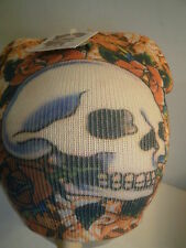 6 Skull Beenie Tattoo Design Knit Hats Kenny Hwang Acrylic Beanie Multi-Color
