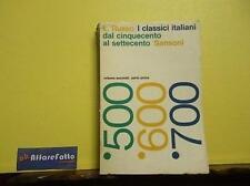 ART 4.202 LIBRO I CLASSICI ITALIANI DAL 500 AL 700 DI LUIGI RUSSO 1968