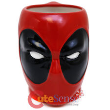 Marvel Deadpool Face Mug Molded Coffee Mug Sculpture  Cup