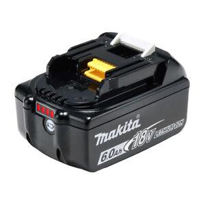 Makita Akku 18 V 6,0 Ah BL1860B 197422-4 tragbar mobil kabellos Akku Zusatz