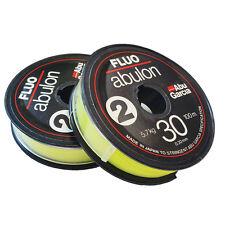 Abu Garcia FLUO ABULON Mono Fishing Line-100m x 2-spools(UNCUT) 0.30mm /12.54 lb