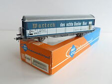 ROCO WAGON A PAROIS LATERALES COULISSANTES WARTECK SBB CFF REF 4340F