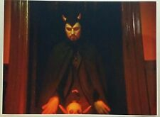 "Church of Satan Anton LaVey 32"" x 24"" Poster Art Baphomet Evil 666 Pentagram Bar"