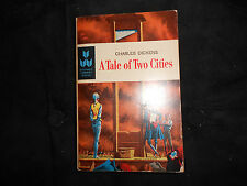 Charles Dickens A Tale of Two Cities, vintage pb, Scholastic Book Services 1964