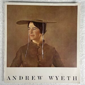 ANDREW WYETH PA ACADEMY FINE ARTS BOOK Tempera WATERCOLORS Drawings 1938 - 1966