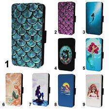 Mermaid Seaside Designs Flip Phone Case Cover Wallet - Fits Iphone 6 7 8 X 11