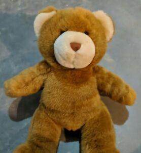 "Build A Bear BAB Light Brown Bear Plush 15"" Tall Stuffed Animal BABW Workshop"