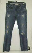 Textile Elizabeth & James Ozzy Distressed Skinny Jeans Size 25