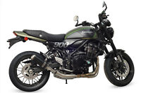 Kawasaki Z900RS Exhaust SP Engineering Satin Black Round Domed 2018 2019