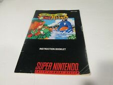 Super Mario World 2 Yoshi's island/ Super Nintendo game booklet only (No Game)
