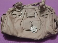 BEBE Tan Leather Evening Bag style purse