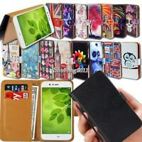 Leather Wallet Stand Magnetic Flip Case Cover For Various Huawei Honor 6/7/8/9