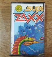 Commodore 64 C64 128 Video Game Super Zaxxon Vintage